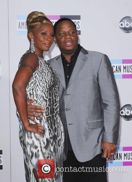 Mary J Blige, Kendu Isaacs and American Music Awards