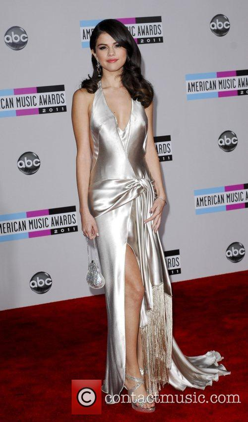 Selena Gomez, Kendu Isaacs and American Music Awards