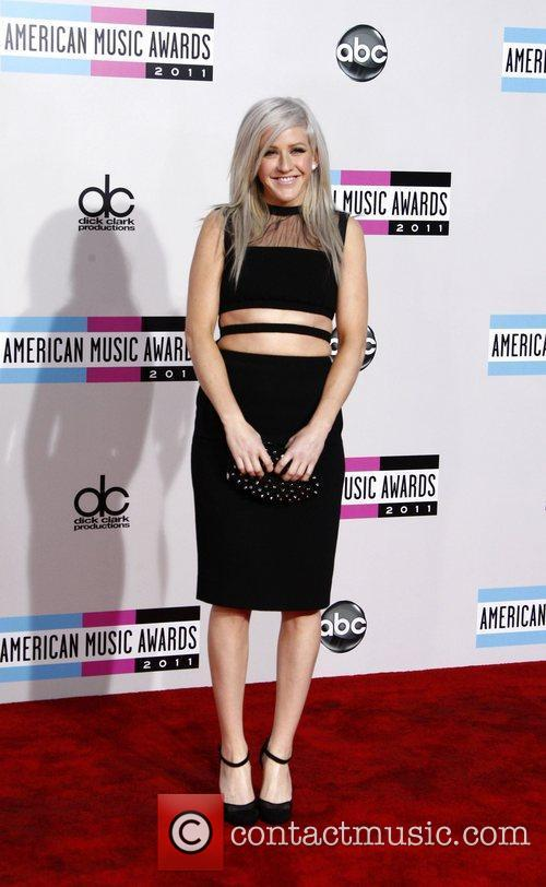 Ellie Goulding and American Music Awards 3