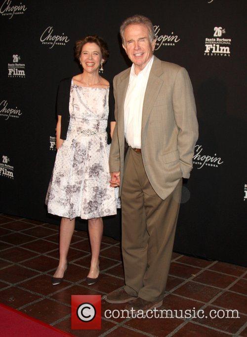 Annette Bening, Warren Beatty, Santa Barbara International Film Festival