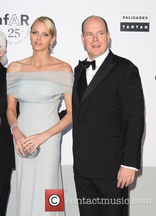 HRH Prince Albert of Monaco and Charlene Wittstock...