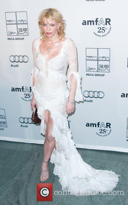 Courtney Love 2nd Annual amfAR Inspiration Gala at...
