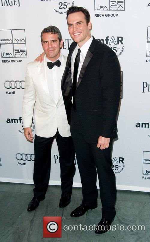 Andy Cohen and Cheyenne Jackson 2nd Annual amfAR...