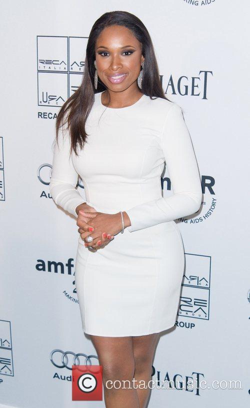 Jennifer Hudson 2nd Annual amfAR Inspiration Gala at...