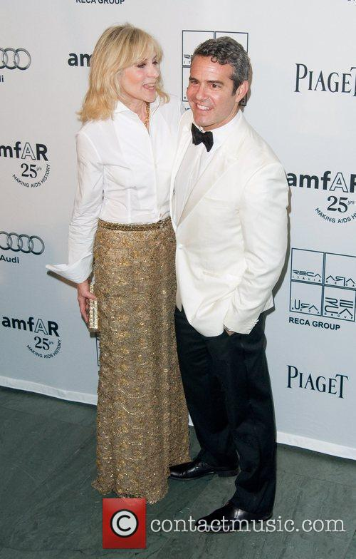Judith Light and Andy Cohen 2nd Annual amfAR...