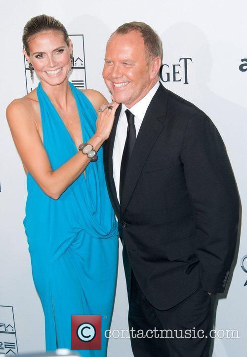 Heidi Klum and Michael Kors 7
