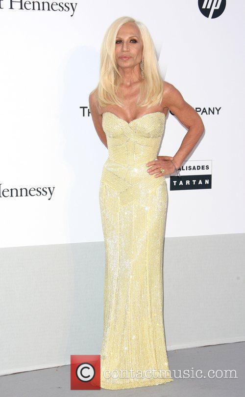 Donatella Versace 2011 Cannes International Film Festival -...