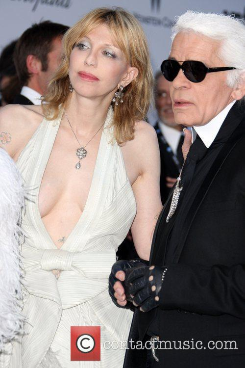 Karl Lagerfeld and Courtney Love 1