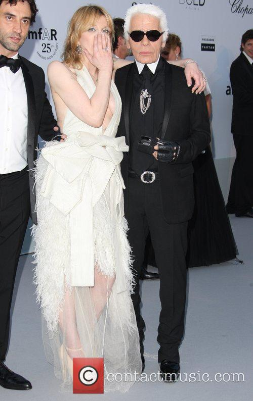 Karl Lagerfeld and Courtney Love 7
