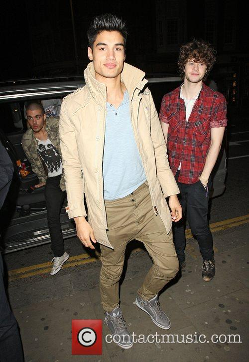Siva Kaneswaran and Jay McGuinness of The Wanted...