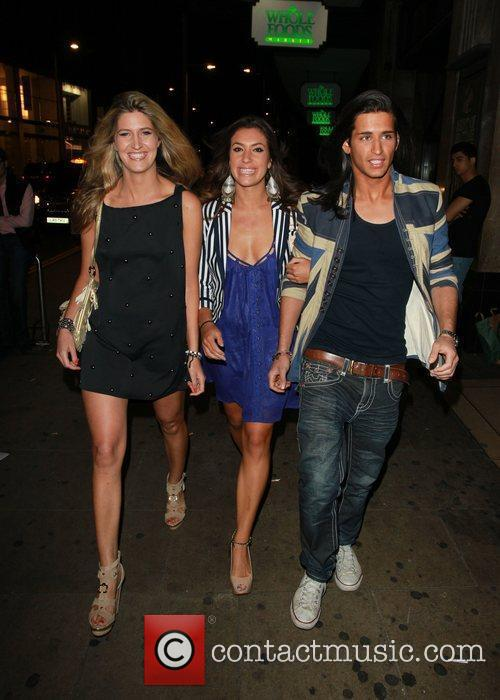 Francesca Hull, Gabriella Ellis and Ollie Locke...