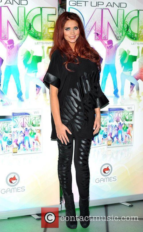 Amy Childs launches 'Get Up And Dance' at...