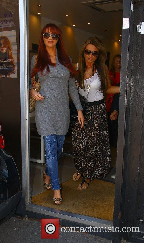Amy Childs and Lauren Goodger from 'The Only...