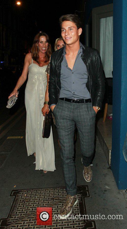 Joey Essex  leaving Amy Childs 21st birthday...