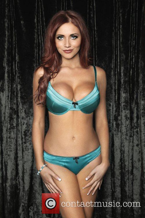 Amy Childs appears in the advertising campaign for...
