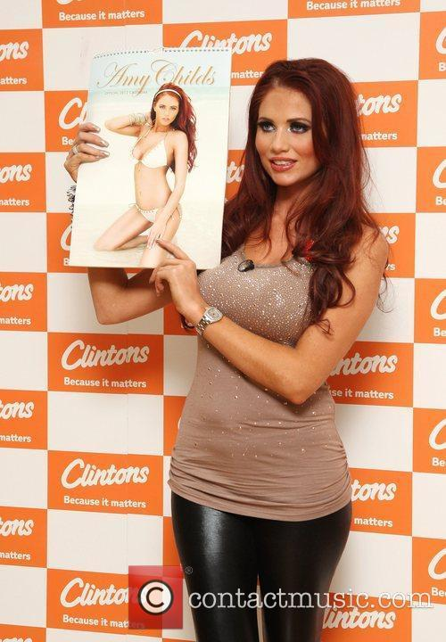 Amy Childs and Bluewater 5