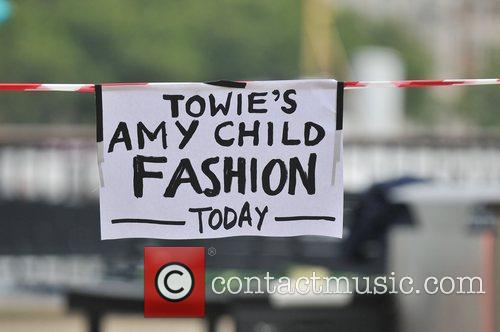 Atmosphere as Amy Childs presents a segment on...