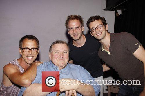 Joshua Lehrer, David Mixner, Ryan Spahn and Michael...