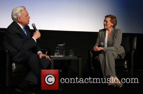 TCM host and anchor Robert Osborne with Julie...