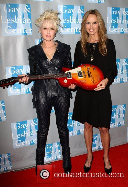 Cyndi Lauper and Chely Wright 11