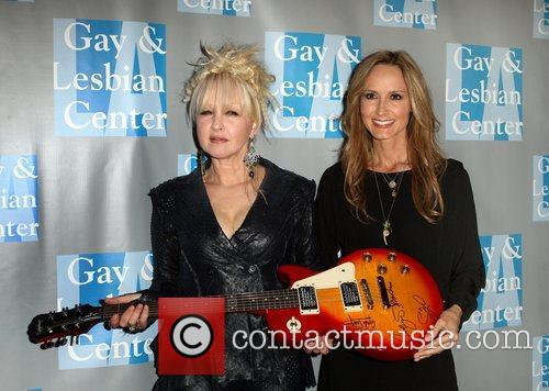 Cyndi Lauper and Chely Wright 8