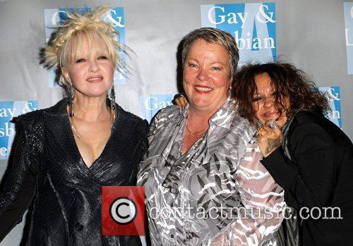Cyndi Lauper and Linda Perry 2