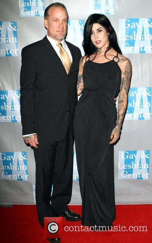 Jesse James and Kat Von D 1