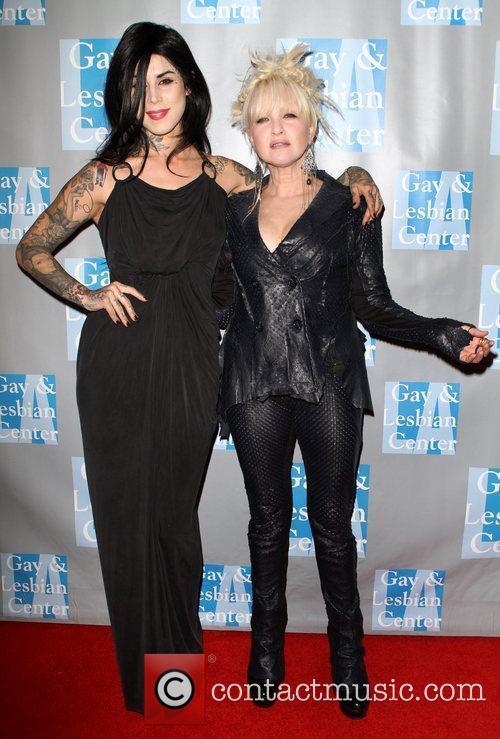 Kat Von D and Cyndi Lauper 3