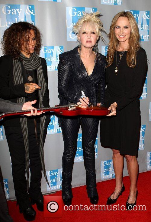 Linda Perry, Chely Wright and Cyndi Lauper 2
