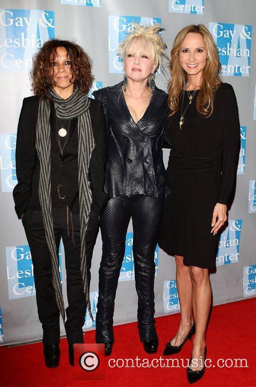 Linda Perry, Chely Wright and Cyndi Lauper 10
