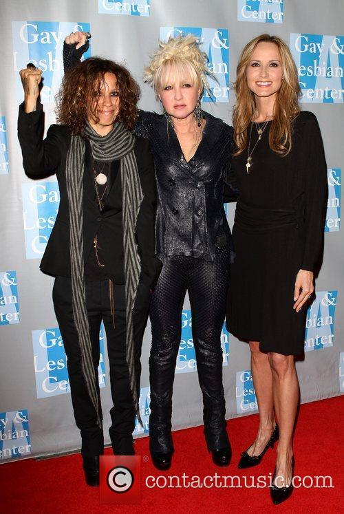 Linda Perry, Chely Wright and Cyndi Lauper 7