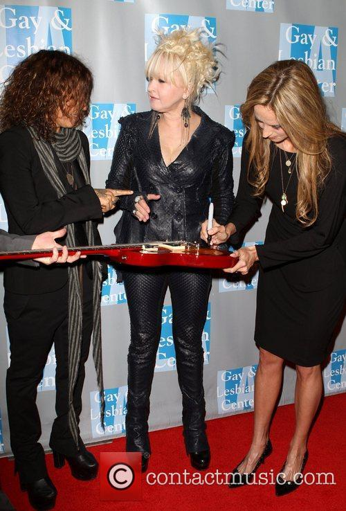 Linda Perry, Chely Wright and Cyndi Lauper 3