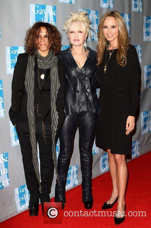 Linda Perry, Chely Wright and Cyndi Lauper 9