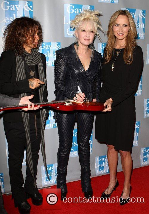 Linda Perry, Chely Wright and Cyndi Lauper 4