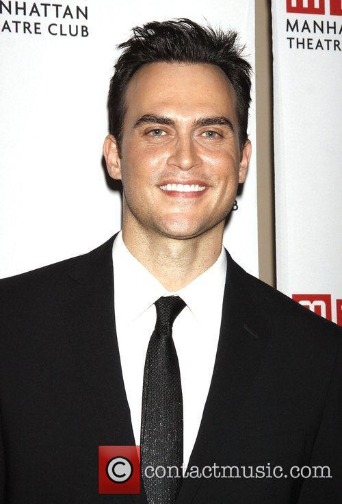 Cheyenne Jackson  during the pre-show photo call...