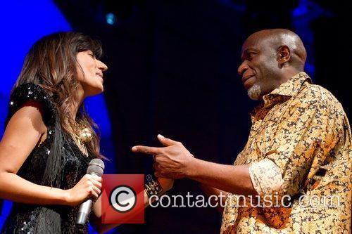Ana Moura performs live at Patio da Gale