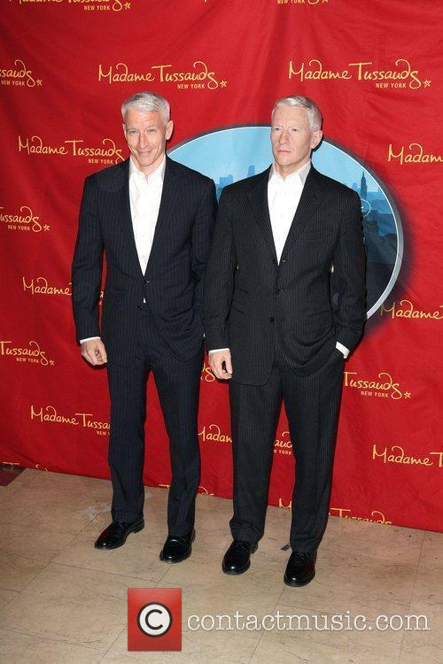 Anderson Cooper and Madame Tussauds 2