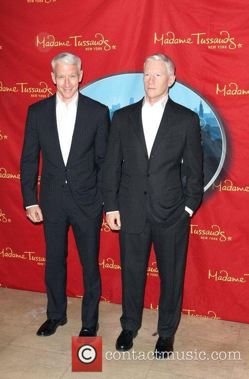Anderson Cooper and Madame Tussauds 3