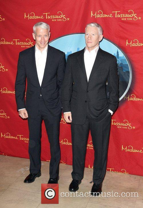 Anderson Cooper and Madame Tussauds 4