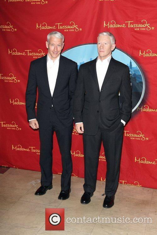 Anderson Cooper and Madame Tussauds 5