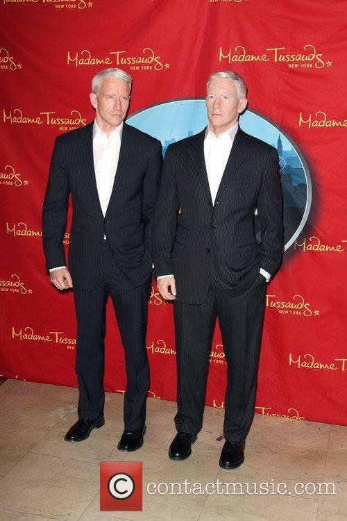 Anderson Cooper and Madame Tussauds 6