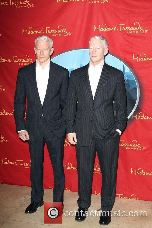 Anderson Cooper and Madame Tussauds 7