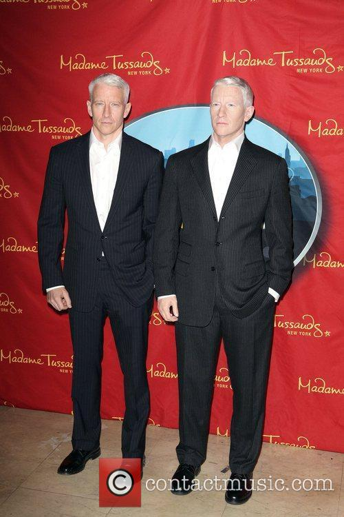 Anderson Cooper and Madame Tussauds 8