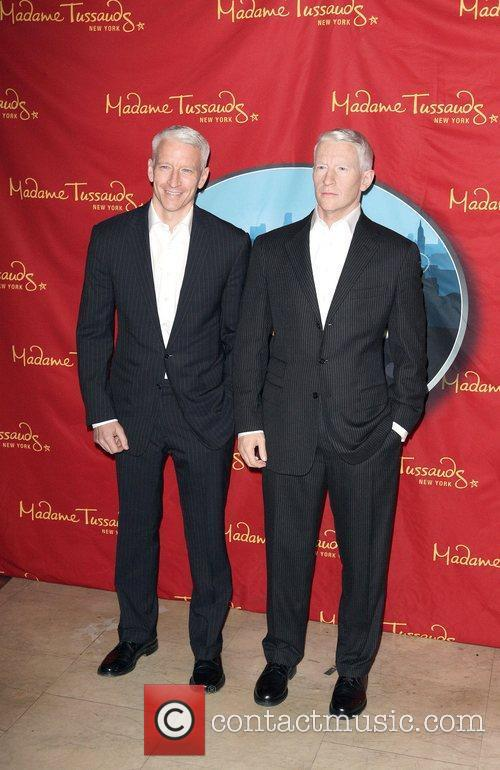 Anderson Cooper and Madame Tussauds 10