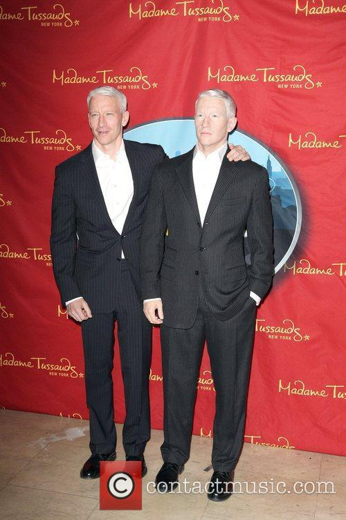 Anderson Cooper and Madame Tussauds 11