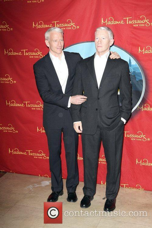 Anderson Cooper and Madame Tussauds 13