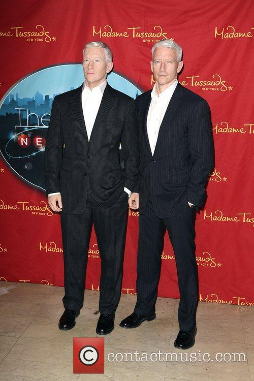 Anderson Cooper and Madame Tussauds 15
