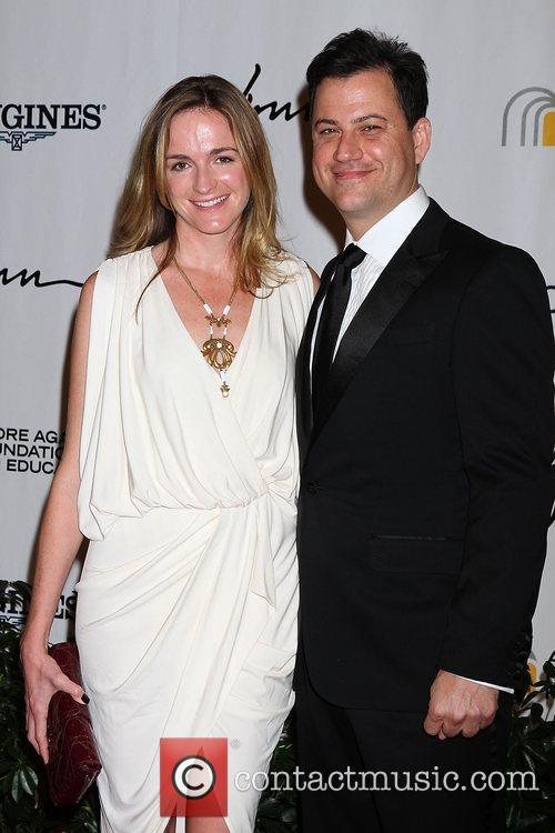 Jimmy Kimmel, Molly McNearney Andre Agassi Grand Slam...