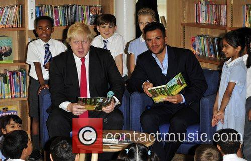 Boris Johnson and Peter Andre 5