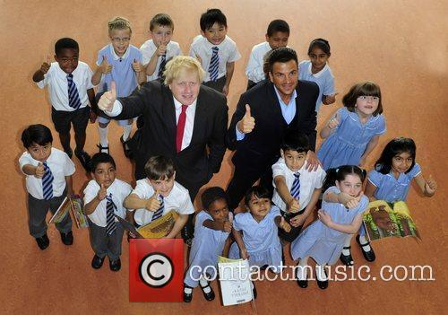 Boris Johnson and Peter Andre 9